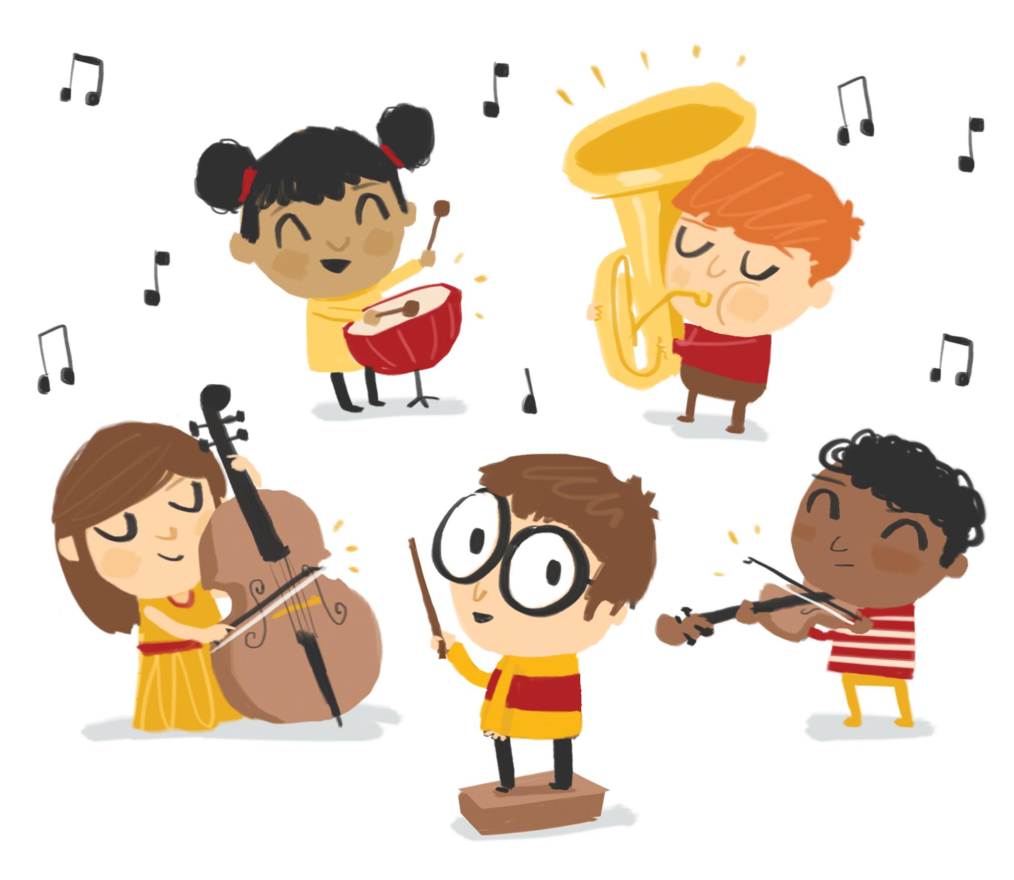 Âm nhạc giúp trẻ tăng tính kết nối và gắn kết