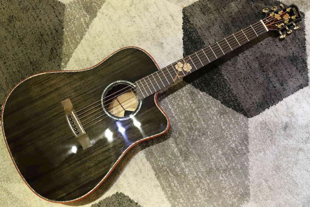 Đàn Guitar Acoustic Takahama ATK250CE-BK