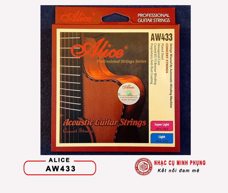 Dây Guitar Acoustic ALICE AW433