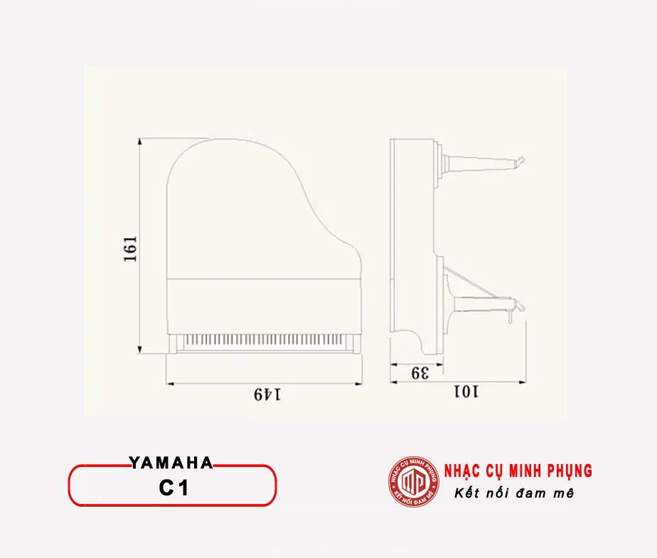Piano Cơ Yamaha Grand C1X PE