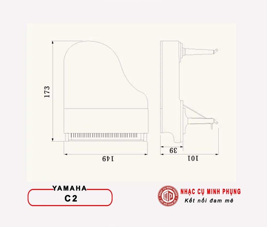 Piano Cơ Yamaha Grand C2X PE