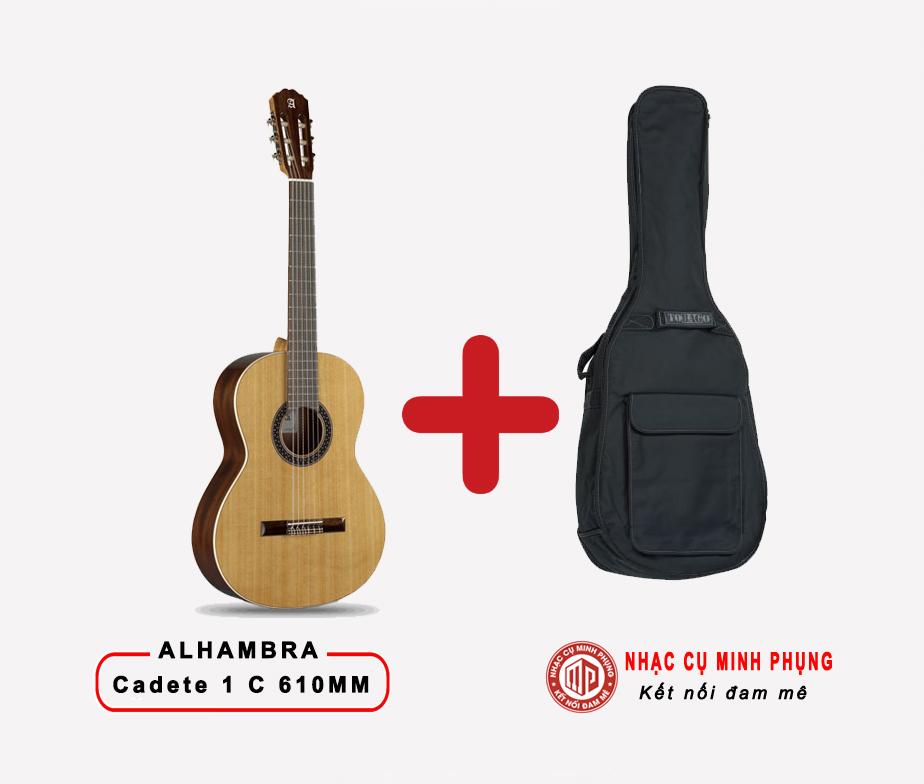 Đàn Guitar Classic Alhambra Cadete 1C 610MM