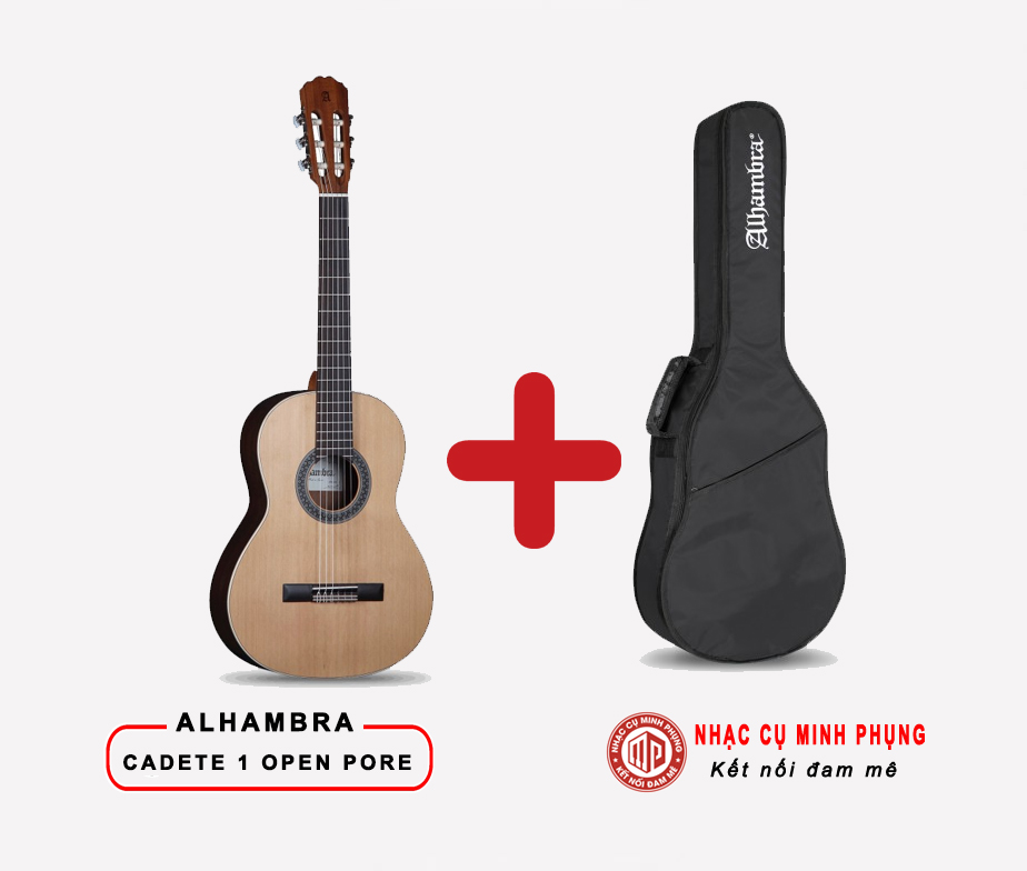 Đàn Guitar Classic Alhambra Cadete 1 Open Pore