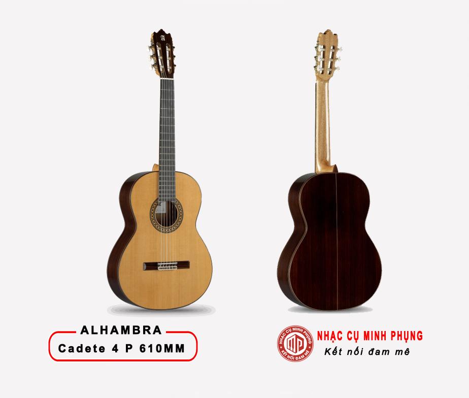ĐÀN GUITAR CLASSIC ALHAMBRA CADETE 4P 610MM