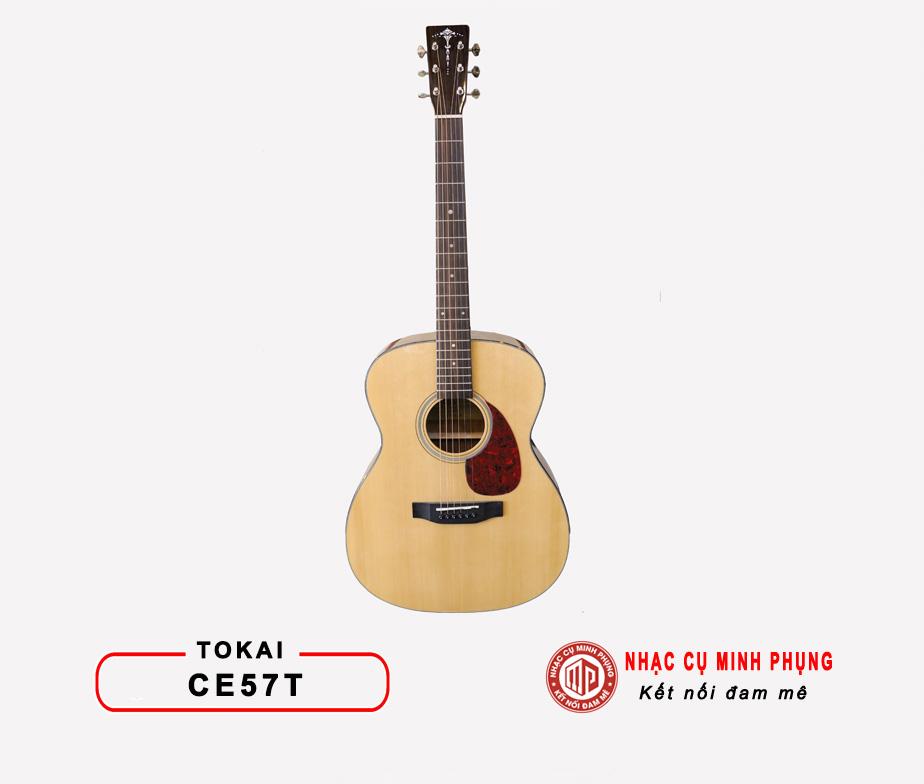 Đàn Guitar Acoustic Tokai CE57T