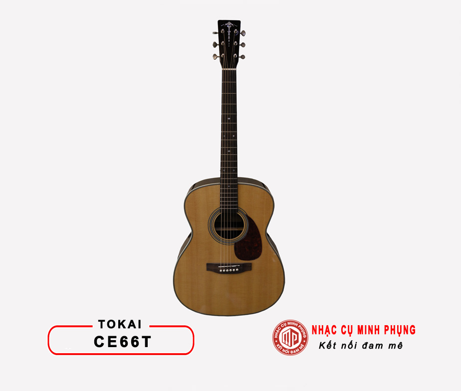 Đàn Guitar Acoustic Tokai CE66T