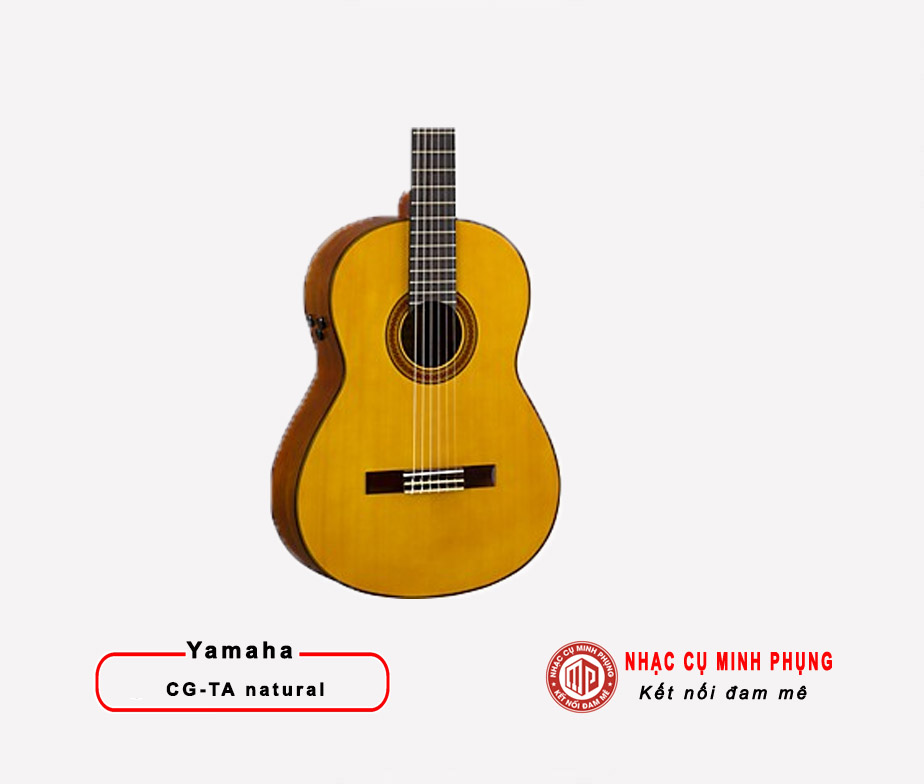 Đàn Guitar Yamaha CG-TA Natural