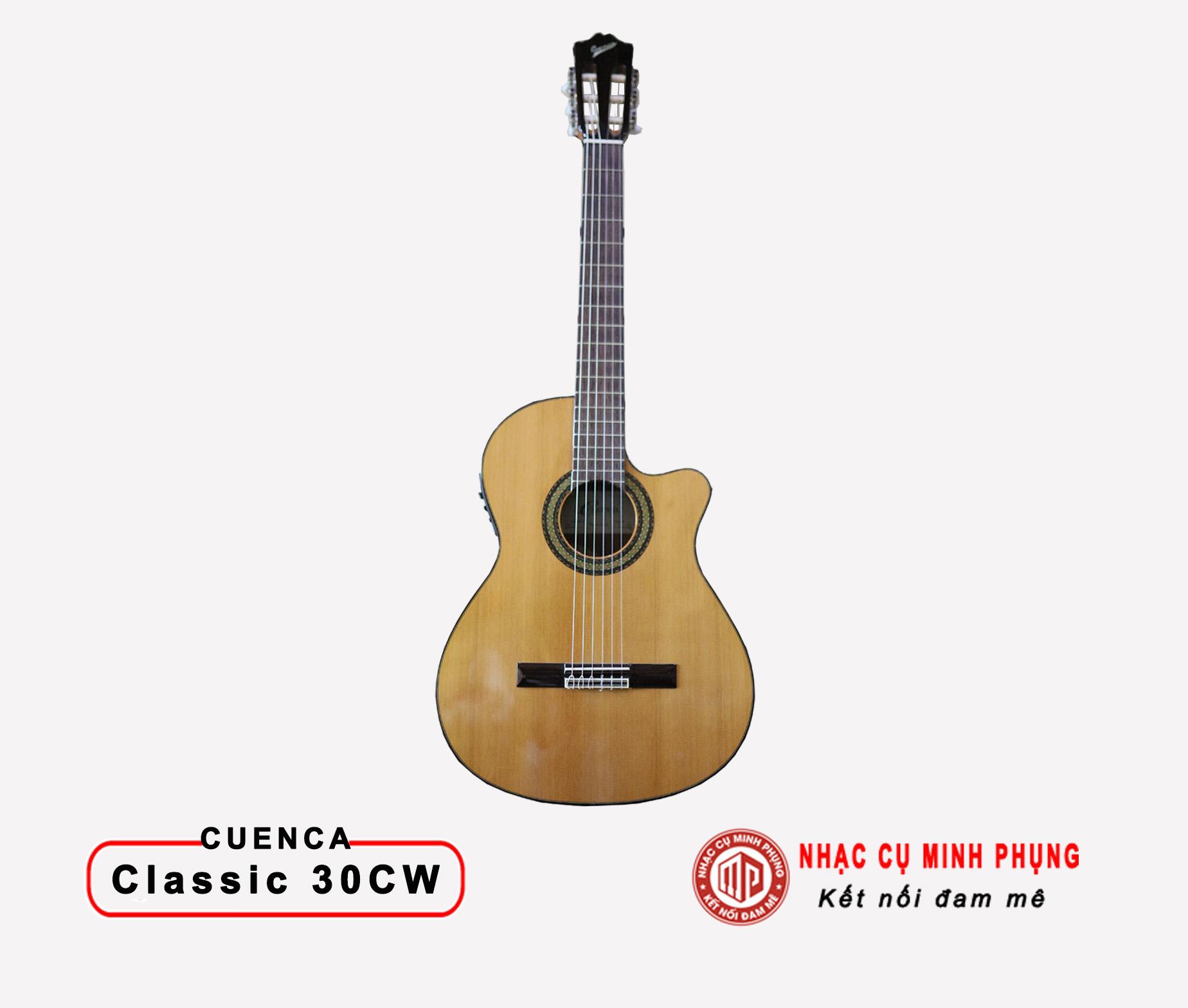 Đàn Guitar Classic Cuenca 30CW