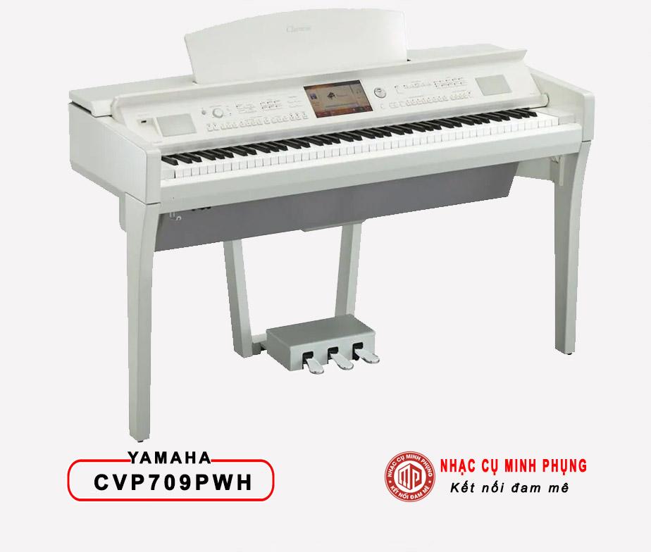 Đàn Piano Điện Yamaha CVP 709PWH