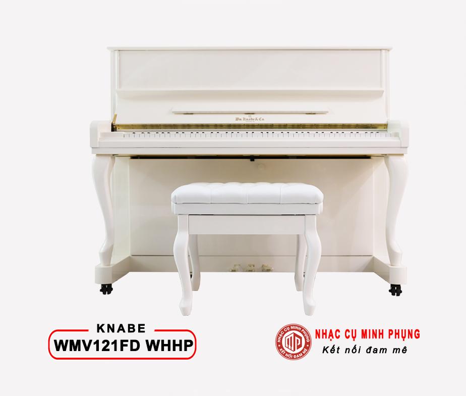 Piano cơ Knabe WMV 121FD (White)
