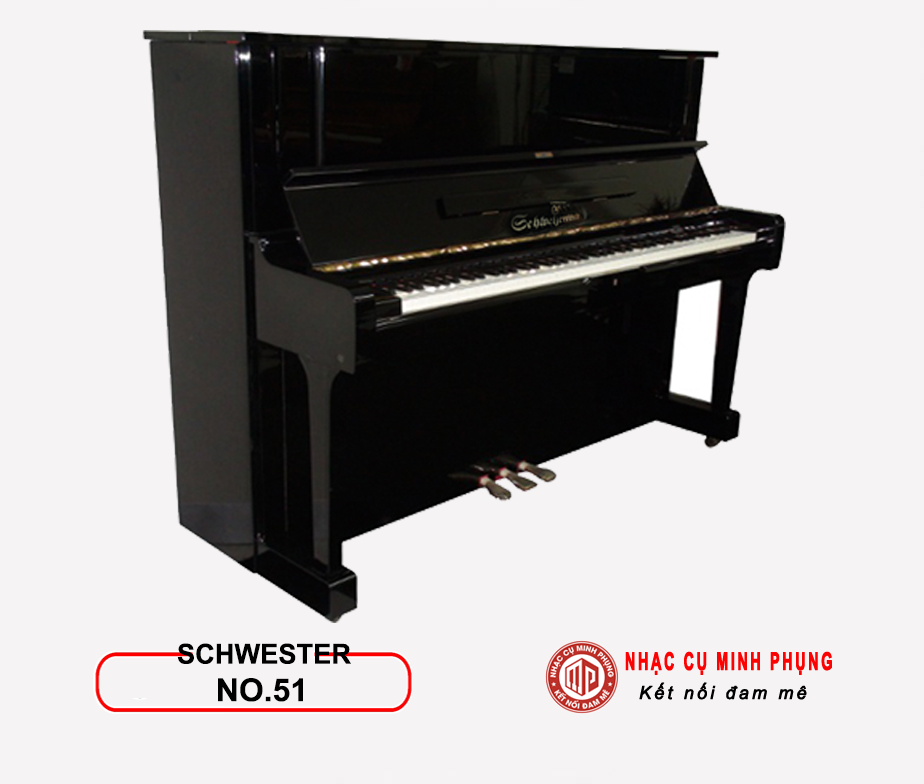 Đàn Piano Cơ SCHWESTER NO.51
