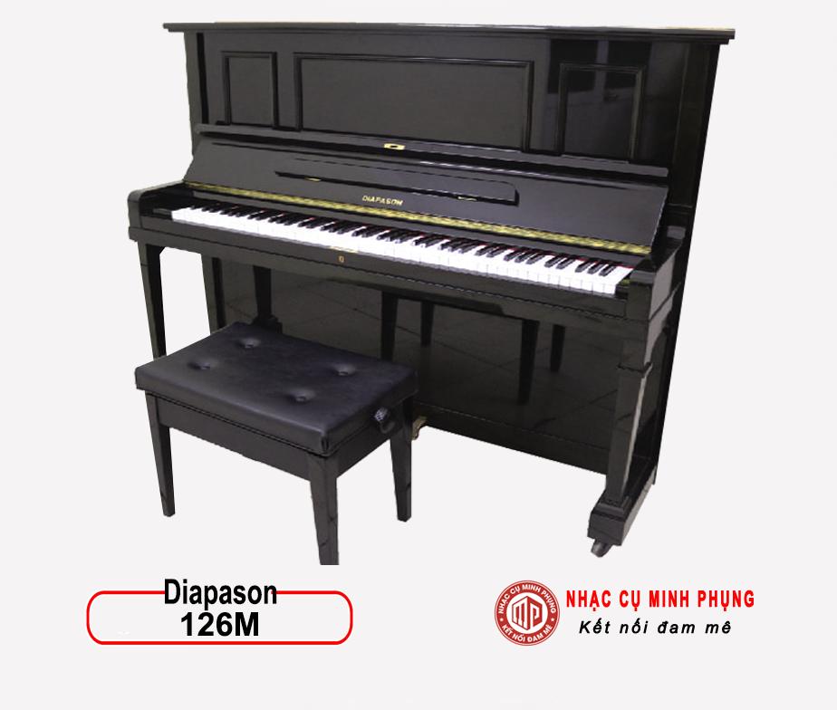 Đàn Piano Cơ Diapason 126M