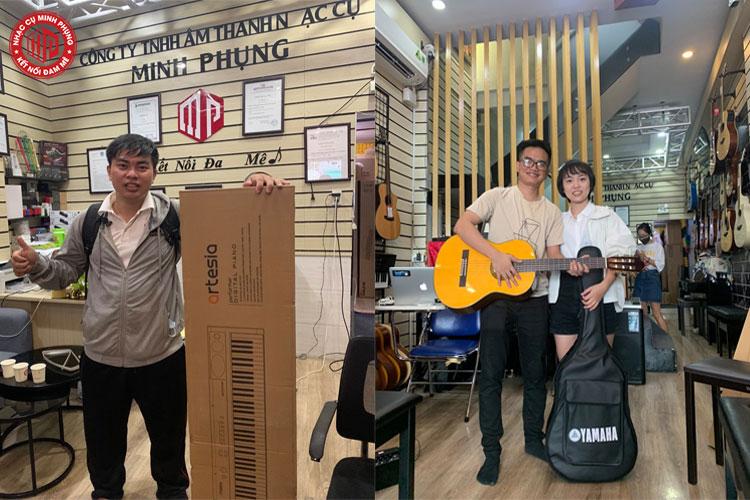 Địa chỉ bán đàn Guitar TpHCM uy tín nhất hiện nay