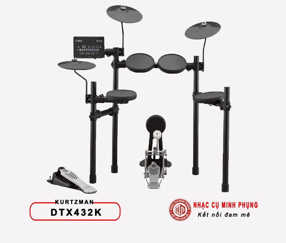 Trông điện tử Yamaha DTX432K (Bộ)
