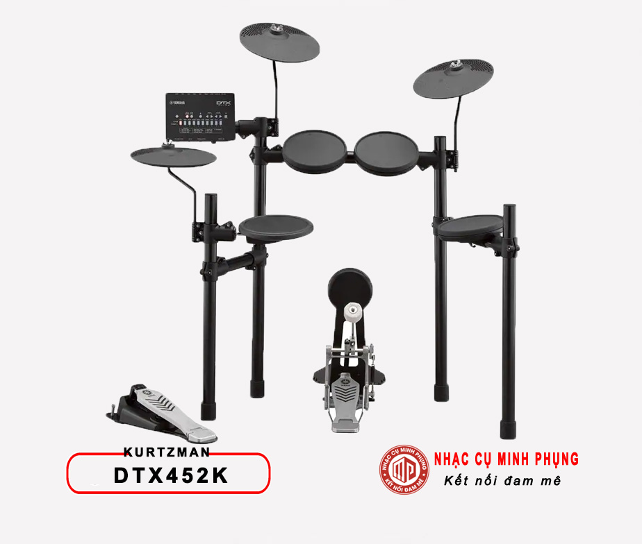 Trống điện tử Yamaha DTX452K (Bộ)