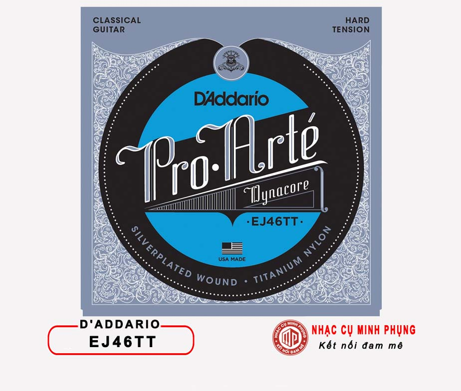 Dây Guitar CLASSIC D'ADDARIO EJ46TT