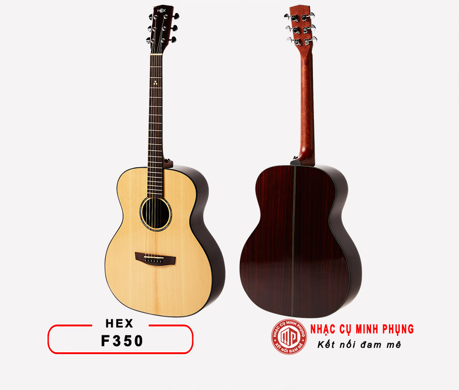Đàn guitar acoustic Hex D100CE