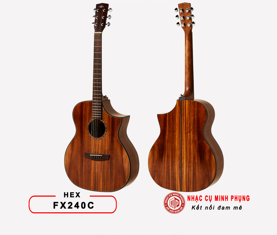 ĐÀN GUITAR ACOUSTIC HEX D570T