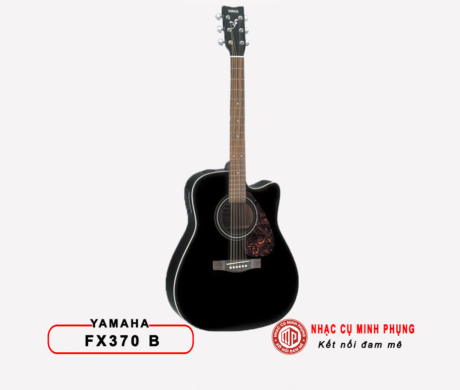 Đàn Guitar Acoustic Yamaha F370 Black