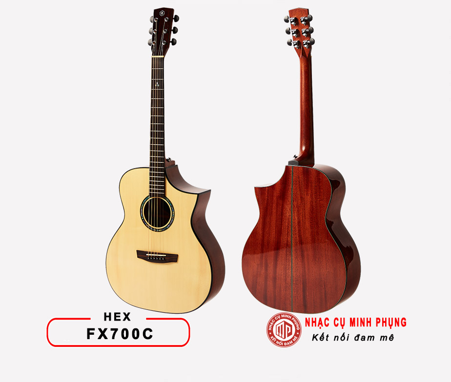 Đàn Guitar Acoustic Yamaha AC5M ARE Vitage Natural