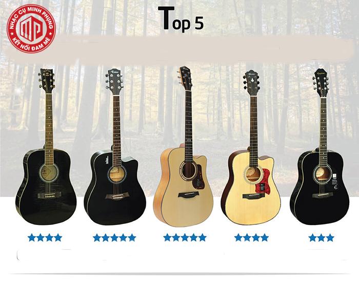 Giá bán 1 cây đàn guitar hiện nay bao nhiêu