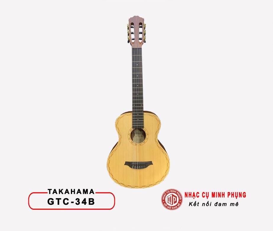 Đàn Guitar Classic Takahama GTC-34B