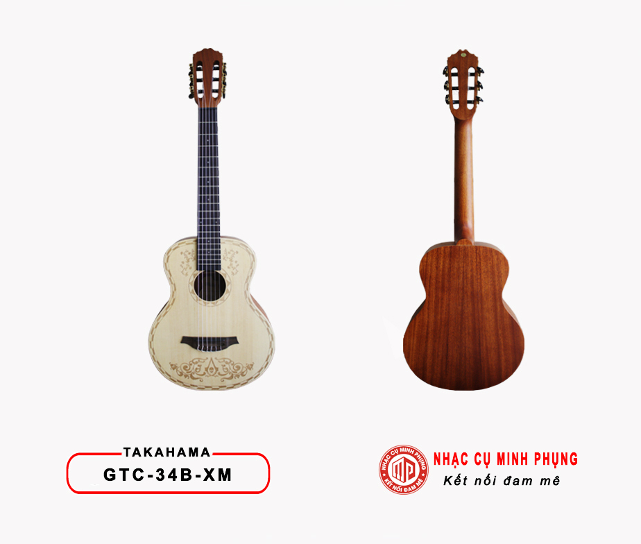 Đàn Guitar Classic Takahama GTC-34B XM