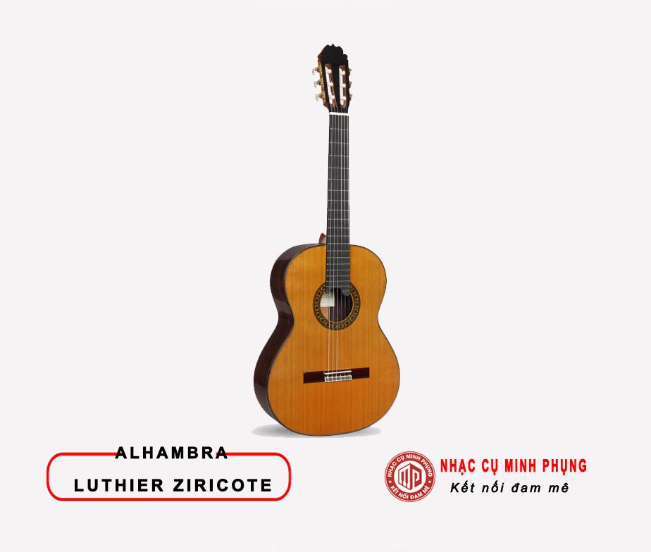 Đàn Guitar Classic Alhambra Luthier Ziricote 50