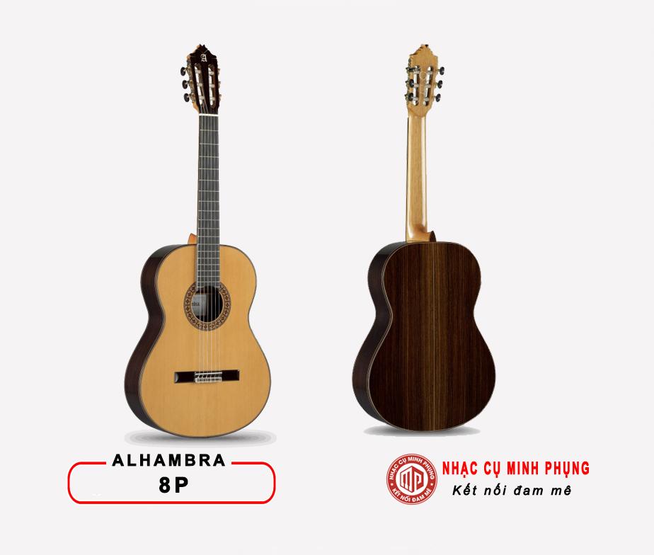 Đàn Guitar Classic Alhambra 8P