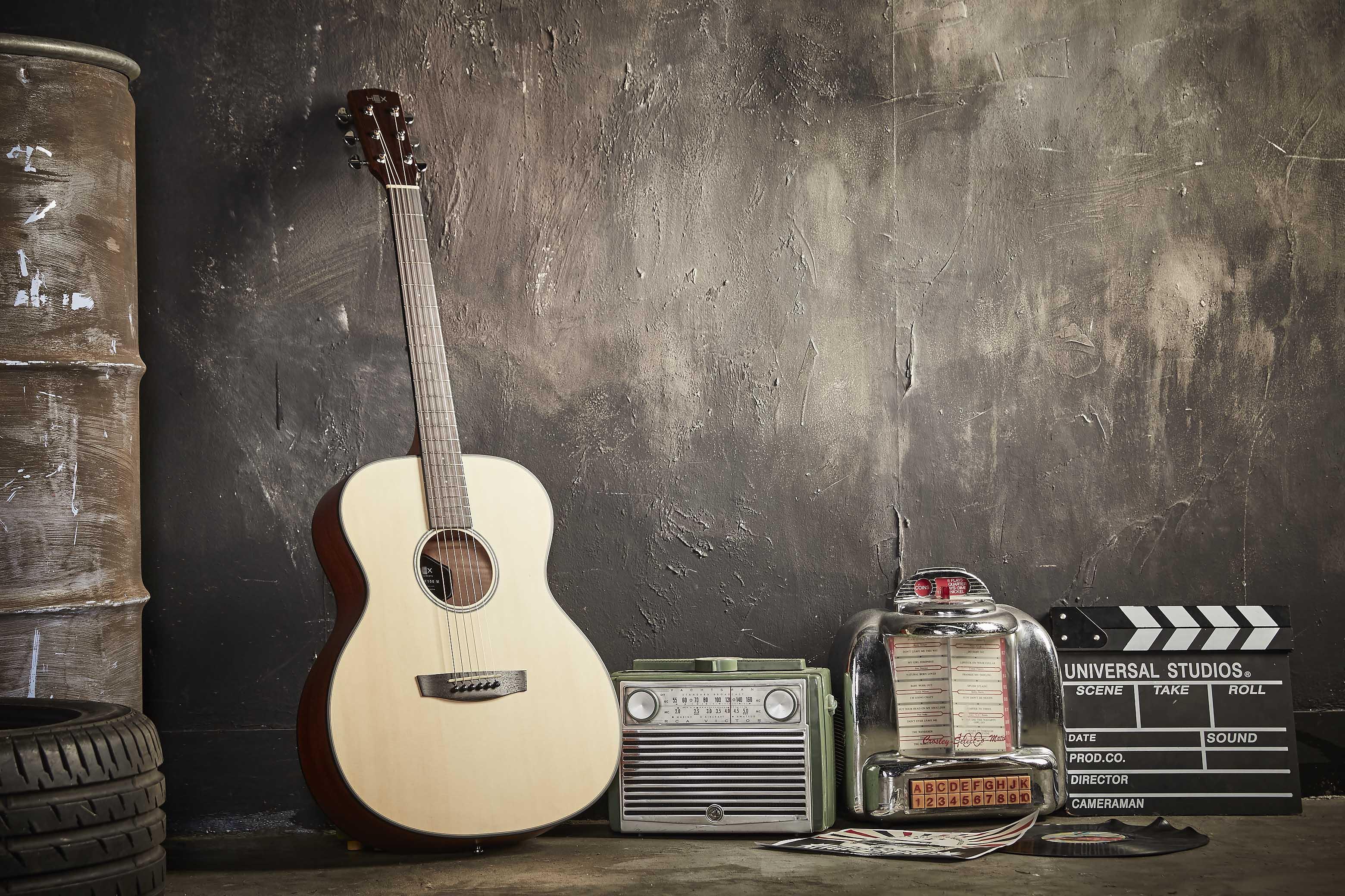 Đàn Guitar Acoustic Hex F100 M
