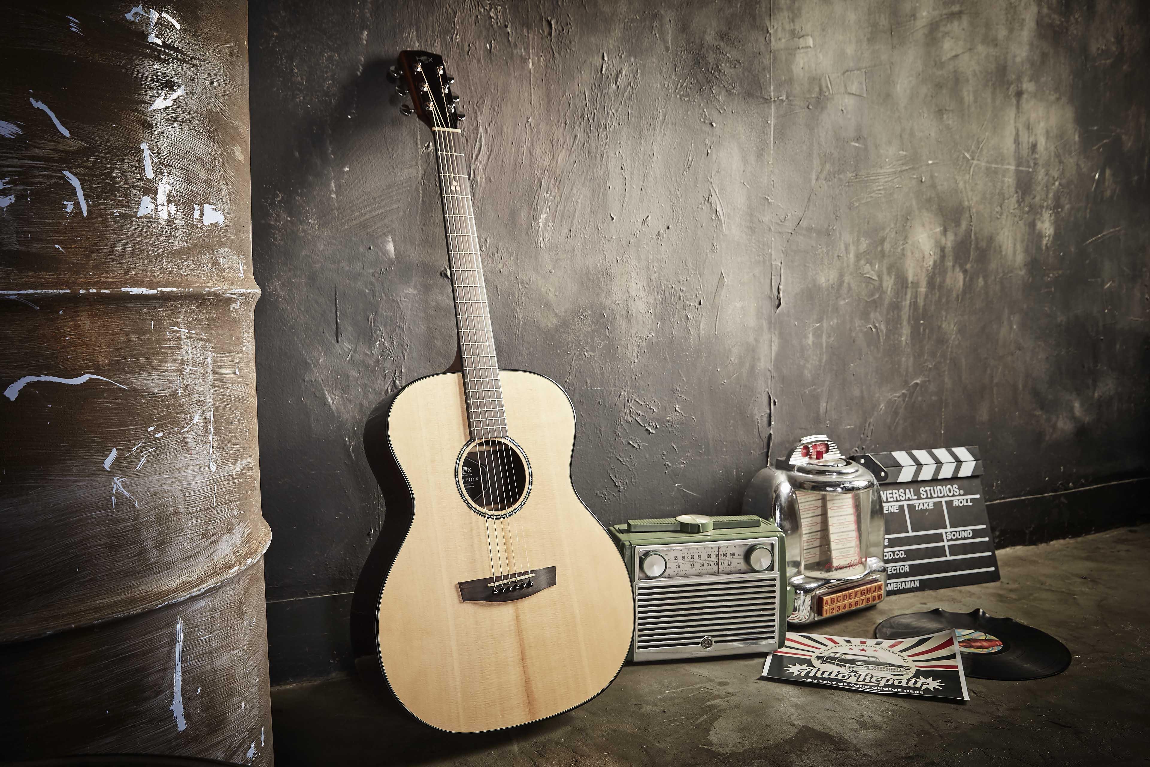 Đàn Guitar Acoustic HEX F350