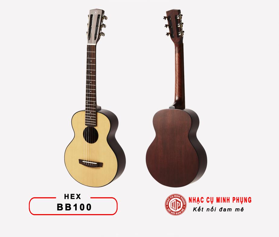 Đàn guitar classic Hex BB100M