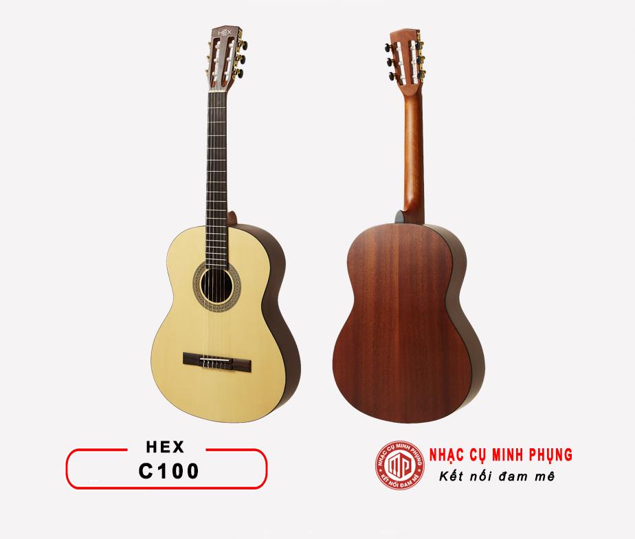 Đàn guitar classic Hex C100M
