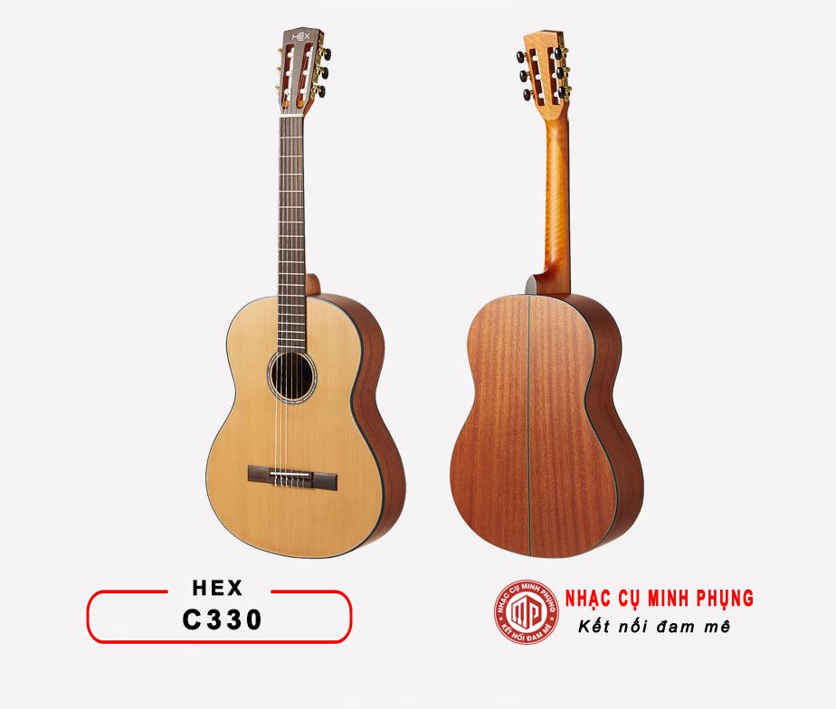 Đàn guitar classic Hex C330