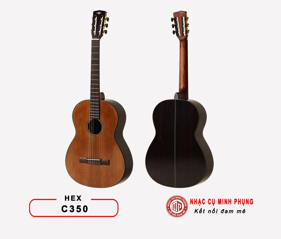 Đàn Guitar Classic Hex C350M