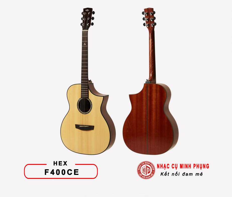 Đàn guitar acoustic Hex F400CE