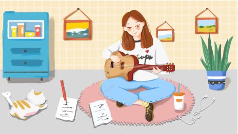 Chơi đàn guitar giúp giảm stress, căng thẳng