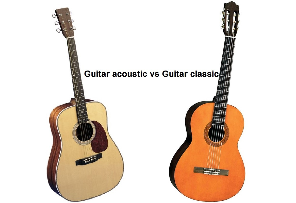 guitar classic or acoustic