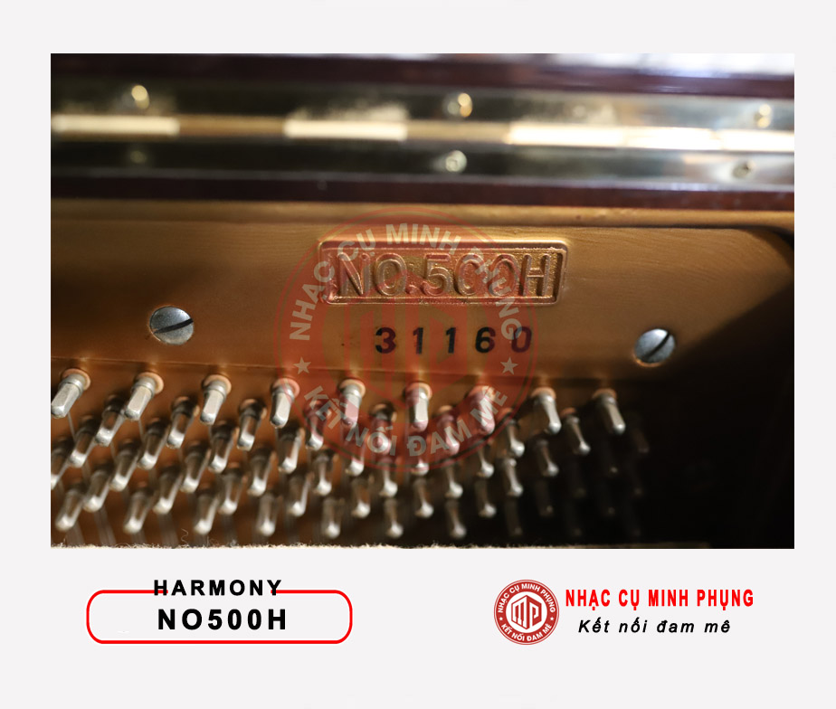 Đàn piano cơ Harmony NO500H