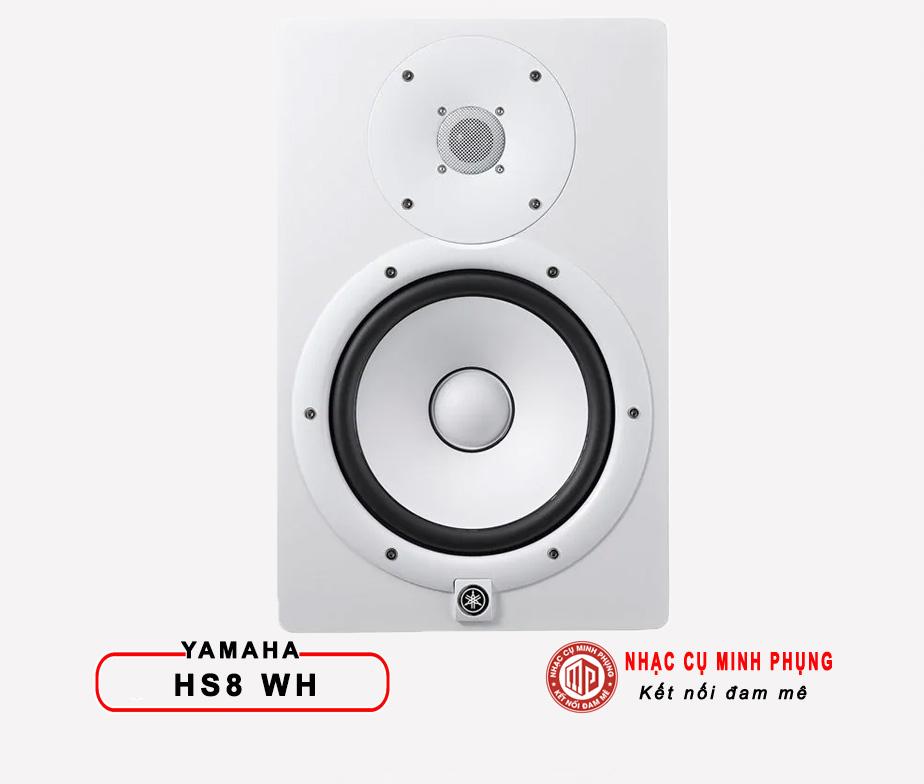 Loa Kiểm Âm Yamaha HS8 White
