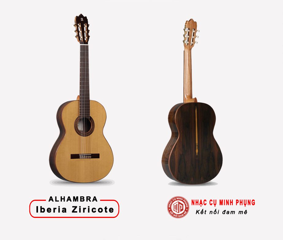 Đàn Guitar Classic Alhambra Iberia Ziricote
