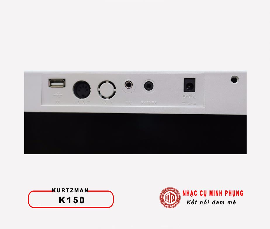 USB trên đàn organ kurtzman K150
