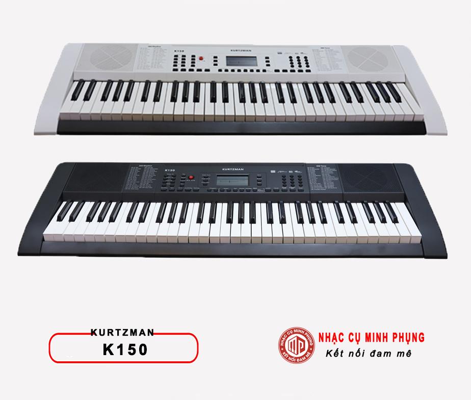 hai phiên bản màu đàn organ kurtzman K150
