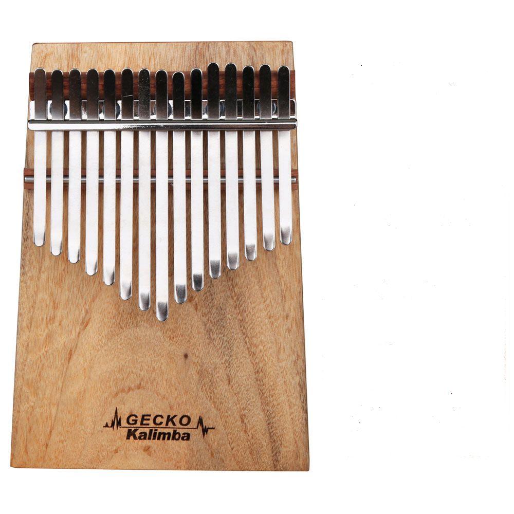 Đàn Kalimba Gecko 15 Phím K15CAP (Gỗ Long Não - Mbira Thumb Finger Piano 15 Keys)