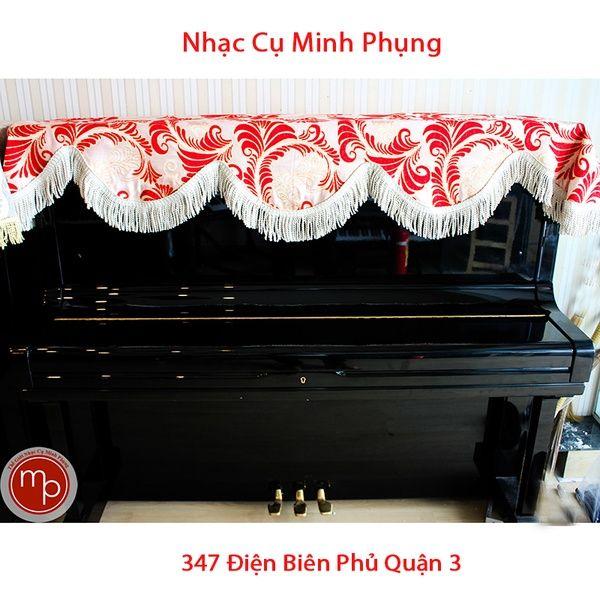 Khăn phủ đàn Piano cơ 01