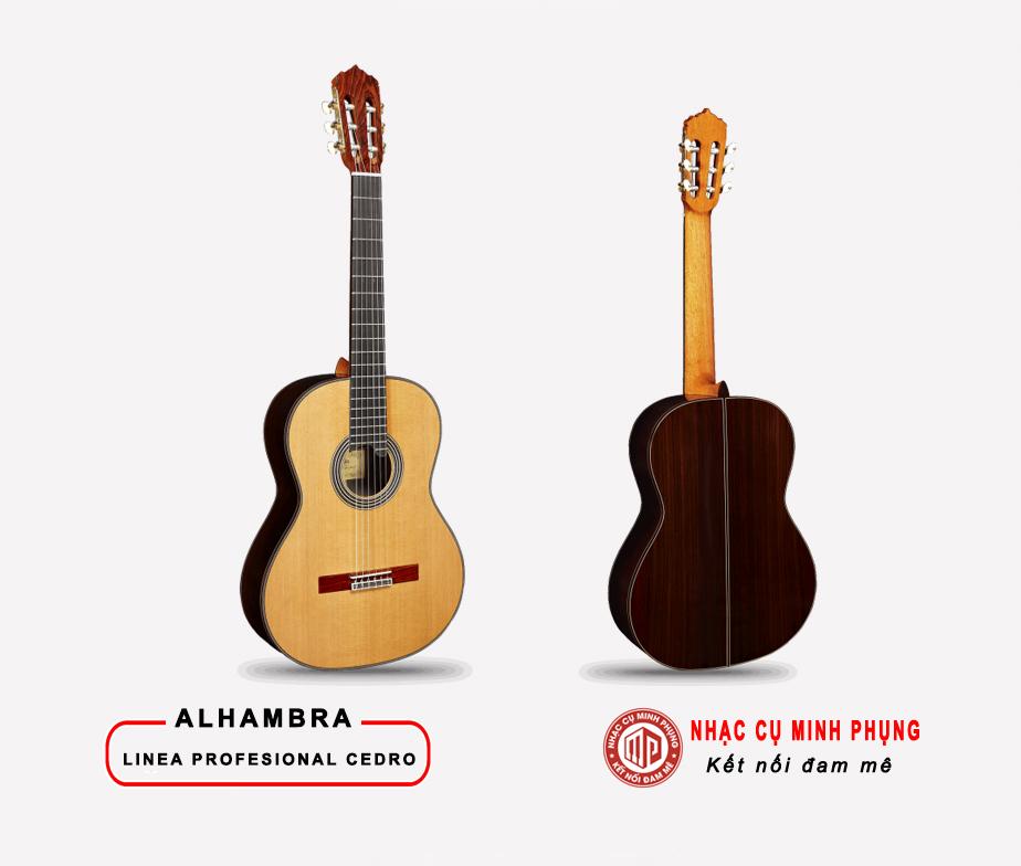 Đàn Guitar Classic Alhambra Linea Professional Cedro