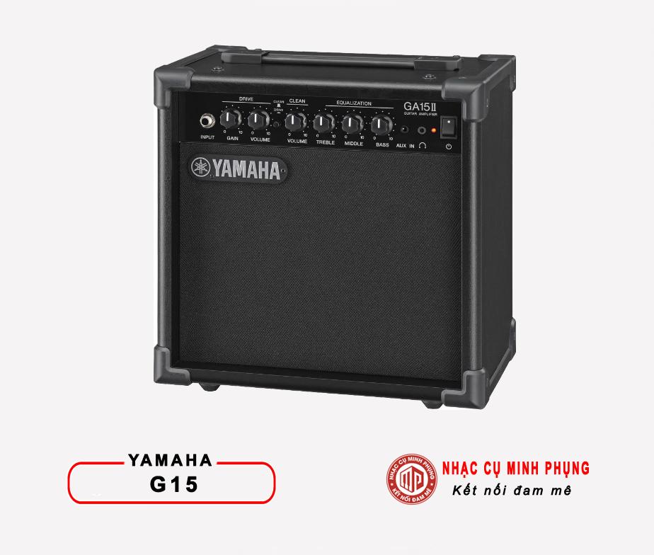 Amplifier Yamaha GA15