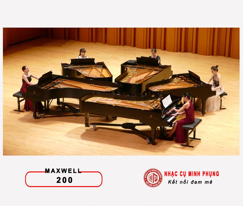 Âm thanh cải thiện Maxwell 200