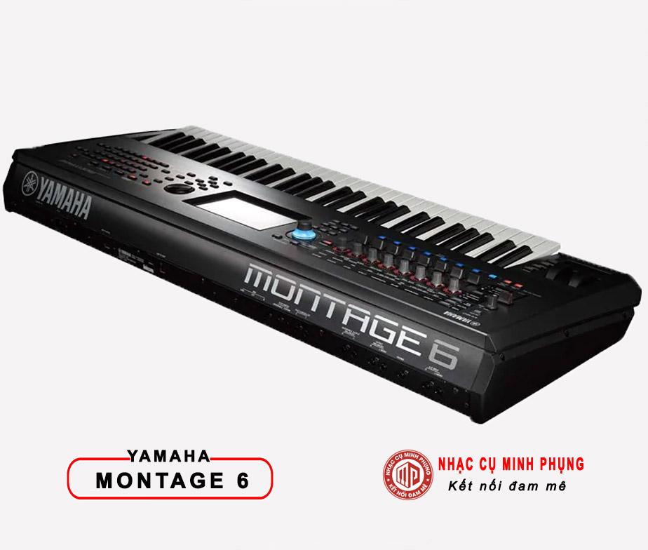 Đàn Keyboard Chuyên Nghiệp Synthesizer Yamaha Montage 6