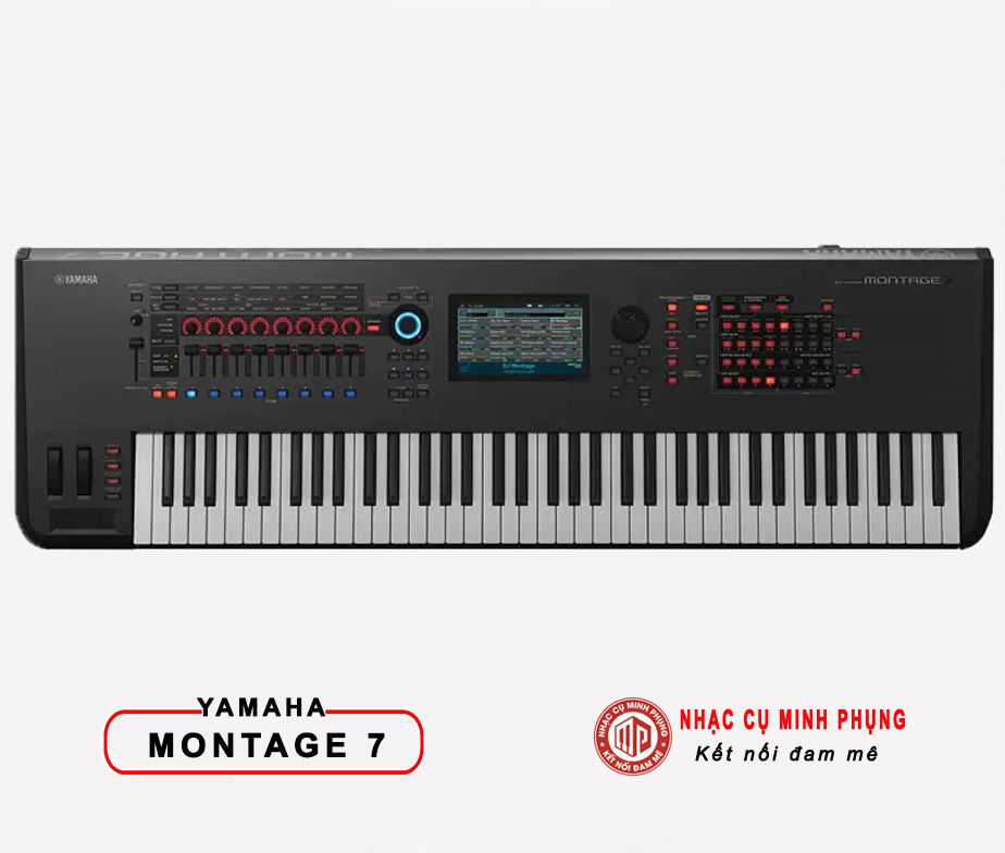 Đàn Keyboard Yamaha Synthesizer MX61 BK